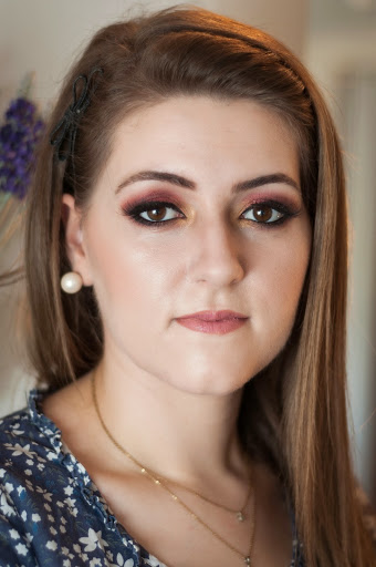 Maquiagem inspirada na cor Marsala
